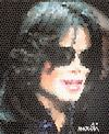 Cartoon: michael (small) by Medi Belortaja tagged michael,jackson