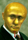 Cartoon: Putin (small) by Medi Belortaja tagged vladimir,putin