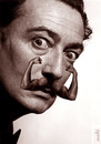 Cartoon: strong mustache (small) by Medi Belortaja tagged strong,mustache,muscles,salvador,dali