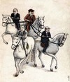 Cartoon: tutelage with horses (small) by Medi Belortaja tagged tutelage,horse,horses,chief,boss,head,servility,servants