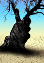 Cartoon: tree thinking (small) by Medi Belortaja tagged tree,thinking,environment