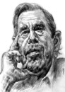 Cartoon: <b>Vaclav Havel</b> (small) by Medi Belortaja tagged <b>vaclav,havel</b> - vaclav_havel_153801