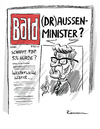 Cartoon: Draussen (small) by Riemann tagged guido,westerwelle,fdp,wahlen,politik,aussenminister