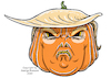 Cartoon: Halloween Mask (small) by Riemann tagged halloween,mask,donald,trump,horrror,republicans,cartoon,george,riemann