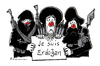 Cartoon: Je Suis Erdie (small) by Riemann tagged erdogan,islamisten,terror,diktatur,islam,religion,unterdrückung,pressefreiheit,satire,islamist,terrorists,türkey,turkey,freedom,of,speech,dictatorship,cartoon,george,riemann