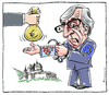 Cartoon: Joker (small) by Riemann tagged juncker,eu,luxemburg,steueroase,finanzen,wirtschaft,taxes,tax,evasion,loopholes,cartoon,george,riemann