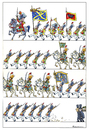 Cartoon: Militärparade (small) by Riemann tagged militaer,parade,armee,krieg,tod,krise,soldaten,euphorie,war,soldiers,death,army,cartoon,george,riemann