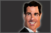 Cartoon: Tom Cruise (small) by BOHEMIO tagged tom,cruise,actor