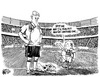 Cartoon: We Need a New Ball (small) by halltoons tagged futbol,football,soccer,germany,greece,euro,economy