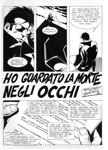 Cartoon: Ho visto la morte negli occhi (medium) by giuliodevita tagged giulio,de,vita,comics