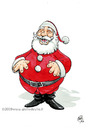 Cartoon: Felice Babbo Natale (small) by giuliodevita tagged santa,claus