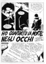 Cartoon: Ho visto la morte negli occhi (small) by giuliodevita tagged giulio,de,vita,comics