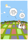 Cartoon: Besetzt (small) by luftzone tagged cartoon,thomas,luft,lustig,urlaub,schaf,fressen,decken,gras,rasen,hunger