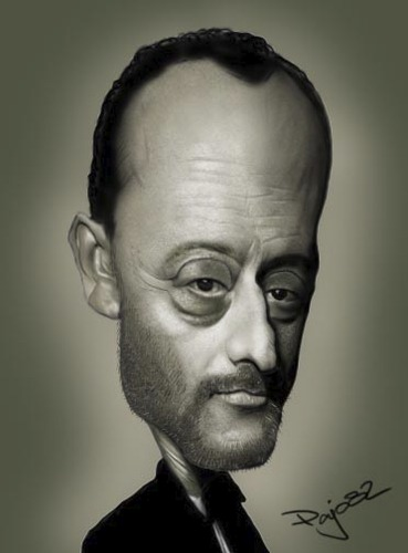 Cartoon: Jean Reno (medium) by Pajo82 tagged jean,reno
