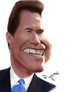 Cartoon: Arnold Schwarzenegger (small) by Pajo82 tagged arnold