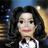 Cartoon: Michael Jackson (small) by Pajo82 tagged michael,jackson