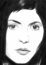 Cartoon: Audrey Tautou (small) by A Tale tagged schauspielerin actress woman tautou die fabelhafte welt der amelie movie portrait porträt