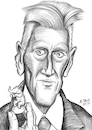 Cartoon: David Lynch (small) by A Tale tagged david,lynch,regisseur,drehbuchautor,usa,hollywood,kino,filme,surrealismus,thriller,horror,mystery,albträume,rätselhaft,twin,peaks,mulholland,drive,wild,at,heart,elefantenmensch,runder,geburtstag,karikatur,caricature,gesicht,porträt,bild,cartoon,pressezeichnung,illustration,tale,agostino,natale