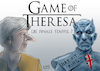 Cartoon: Game of Theresa (small) by A Tale tagged theresa,may,brexit,großbritannien,verlängerung,aufschub,eu,austritt,unendliche,geschichte,uneinig,kompromisslos,verhandlungen,game,of,thrones,start,finale,achte,staffel,hype,populär,nachtkönig,nightking,serie,tv,politik,karikatur,cartoon,pressezeichnung,illustration,tale,agostino,natale