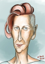 Cartoon: Tilda Swinton (small) by A Tale tagged tilda,swinton,schauspielerin,actress,schottland,großbritannien,arthouse,independent,hollywood,filme,kino,cinema,sechzigster,geburtstag,karikatur,caricature,gesicht,porträt,bild,cartoon,pressezeichnung,illustration,tale,agostino,natale
