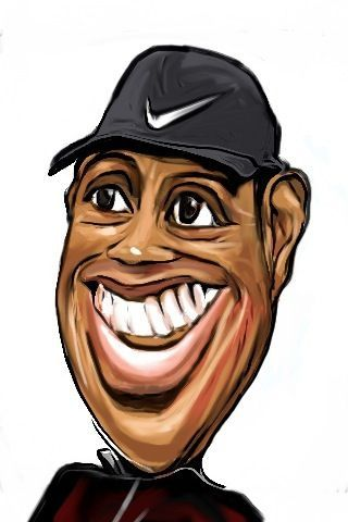 dans caricature tiger_woods_caricature_refined_763185