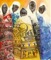 Cartoon: five continents (small) by matteo bertelli tagged continents,africa