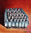 Cartoon: politicians (small) by matteo bertelli tagged politicians,italy