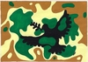 Cartoon: CAMOUFLAGE (small) by serkan surek tagged surekcartoons