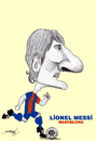 Cartoon: MESSI (small) by serkan surek tagged surekcartoons