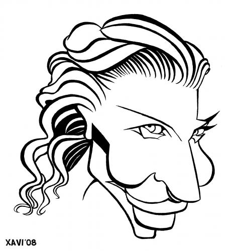 Cartoon: Cate Blanchett (medium) by Xavi Caricatura tagged cate,blanchett,caricature,hollywood,film,cinema,actress,cate blanchett,illustration,portrait,schauspielerin,kino,star,frau,cate,blanchett