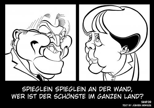 Der spiegel by xavi caricatura politics cartoon toonpool for Spiegel cartoon