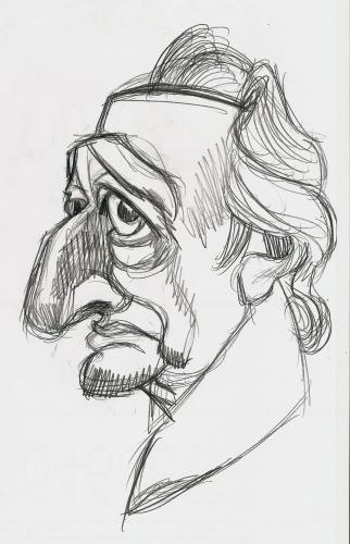 Cartoon: Goethe pencil (medium) by Xavi Caricatura tagged goethe,humanism,theology,weimar,classicism,johann wolfgang von goethe,karikatur,portrait,hommage,illustration,schriftsteller,poet,dichter,meister,faust,literatur,theologe,wissenschaftler,kultur,weimar