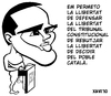 Cartoon: Albert Rivera i la llibertat. (small) by Xavi Caricatura tagged albert,rivera,caricatura,ciutadans,ciudadanos,spain,politics,espanya,catalonia,catalunya