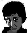Cartoon: Boy from desert HD (small) by Xavi Caricatura tagged boy,sam,desert,children,portrait