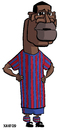 Cartoon: FC Barcelona 2010 Toure (small) by Xavi Caricatura tagged toure,yaya,caricature,caricatura,fcb,barcelona,football,futbol