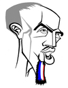 Cartoon: Franck Ribery (small) by Xavi tagged bayern,munchen,franck,ribery,euro2008,football,soccer,france