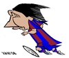 Cartoon: Leo Messi (small) by Xavi Caricatura tagged messi,leo,fcb,barcelona,football,soccer,futbol