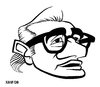 Cartoon: Martin Scorsese (small) by Xavi Caricatura tagged martin,scorsese,film,cinema,oscar,director,hollywood,star