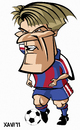 Cartoon: Michael Laudrup (small) by Xavi Caricatura tagged michael laudrup barcelona football soccer sport fcb