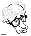 Cartoon: Woody Allen (small) by Xavi Caricatura tagged woody,allen,director,cinema,film,hollywood,star