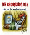 Cartoon: Alternative Groundhog Day (small) by Roberto Mangosi tagged groundhog,day,phil,marmotta