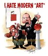 Cartoon: Modern art (small) by Roberto Mangosi tagged art,modern