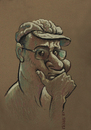 Cartoon: Self portrait (small) by Tarkibi tagged alireza,tarkibi