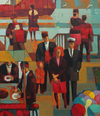 Cartoon: The memorable evening (small) by Tarkibi tagged pahlavi,port,seaport,life