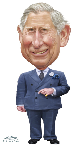 Cartoon: Prince Charles (medium) by Alex Pereira tagged prince,charles