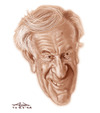 Cartoon: Elie Wiesel (small) by Alex Pereira tagged writer