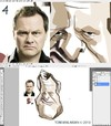 Cartoon: James Andrew Innes Jack Dee (small) by Toni Malakian tagged james,andrew,innes,jack,dee,toni,malakian,karikatur,caricature,tutorial