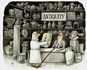Cartoon: antiquity (medium) by ciosuconstantin tagged ancient,