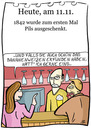 Cartoon: 11. November (small) by chronicartoons tagged pils,bier,kneipe,pub,bananenweizen