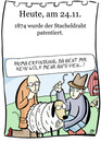 Cartoon: 24. November (small) by chronicartoons tagged stacheldraht,schaf,viehzucht,cartoon